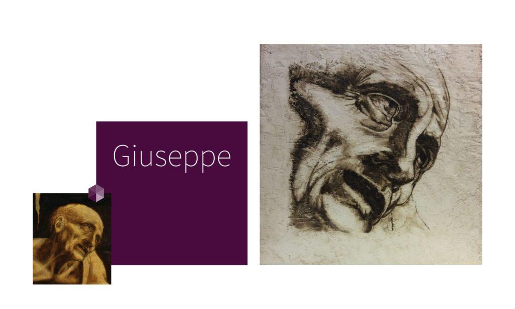 GUISEPPE | por C.J.Ruiz Recreación de SAN JERÓNIMO de Leonardo Da Vinci Colección VIDAS y sus Relatos Cortos Nunproject.com