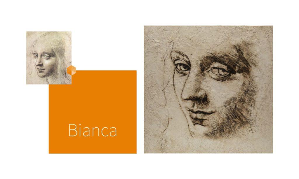 BIANCA | por C.J.Ruiz Recreación de CABEZA DE ÁNGEL, de Leonardo Da Vinci Colección VIDAS y sus Relatos Cortos Nunproject.com