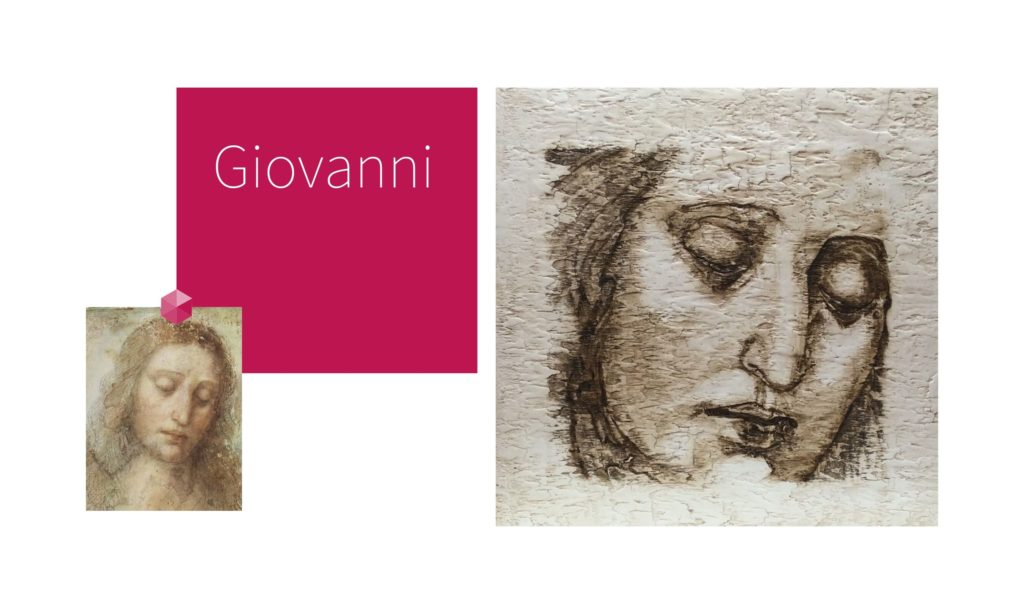 GIOVANNI | por C.J.Ruiz Recreación de IL REDENTORE de Leonardo Da Vinci Colección VIDAS y sus Relatos Cortos Nunproject. com