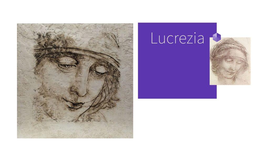 LUCREZIA | por C.J.Ruiz Recreación de SANTA ANA de Leonardo Da Vinci Colección VIDAS y sus Relatos Cortos Nunproject. com