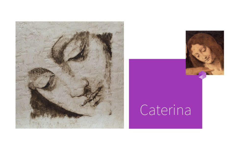 CATERINA | por C.J.Ruiz Recreación de SAN JUAN de La Última Cena de Leonardo Da Vinci Colección VIDAS y sus Relatos Cortos Nunproject.com