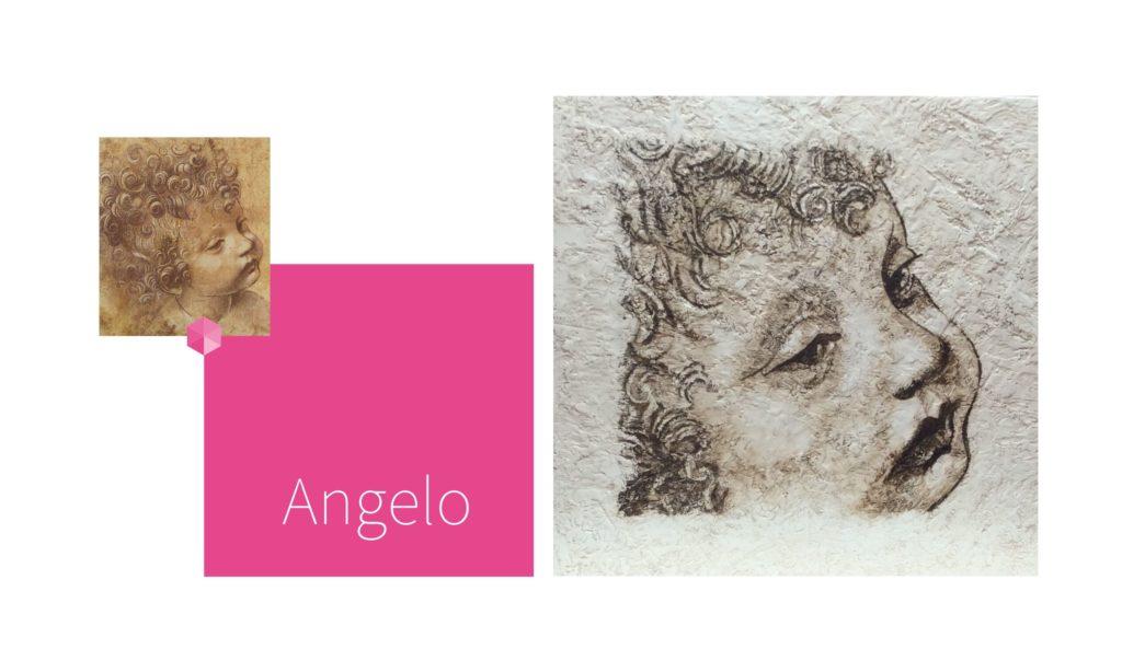 ANGELO | por C.J.Ruiz Recreación de INFANTE de Leonardo Da Vinci Colección VIDAS y sus Relatos Cortos Nunproject.com