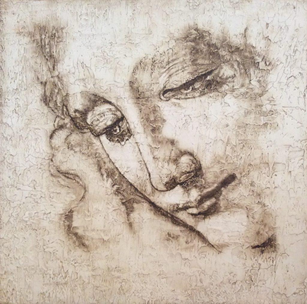 VITTORIA por C.J.Ruiz Recreación de LA SCAPIGLIATA de Leonardo Da Vinci