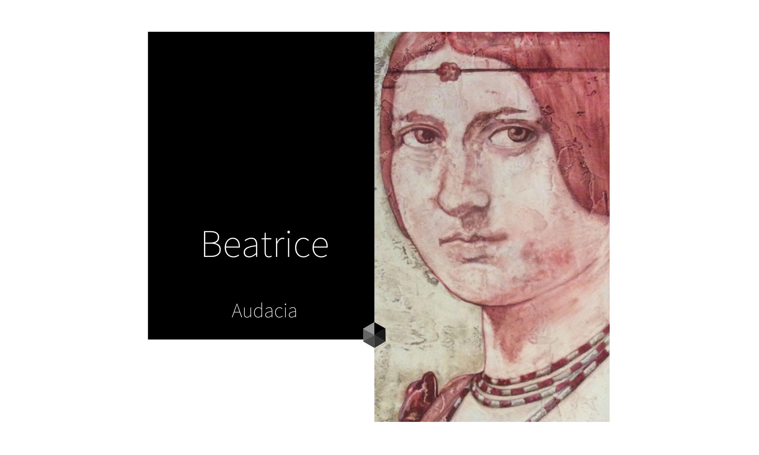 BEATRICE | por C.J. Ruiz Colección Flor de Ziur | AUDACIA