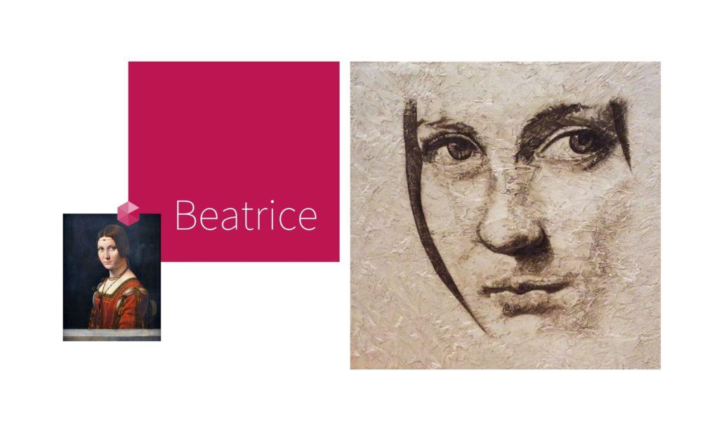 BEATRICE | por C.J.Ruiz Recreación de La Bella Ferronière de Leonardo Da Vinci Colección VIDAS y sus Relatos Cortos Nunproject.com