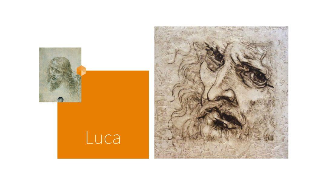 LUCA | por C.J.Ruiz Recreación de CRISTO de Leonardo Da Vinci Colección VIDAS y sus Relatos Cortos Nunproject.com
