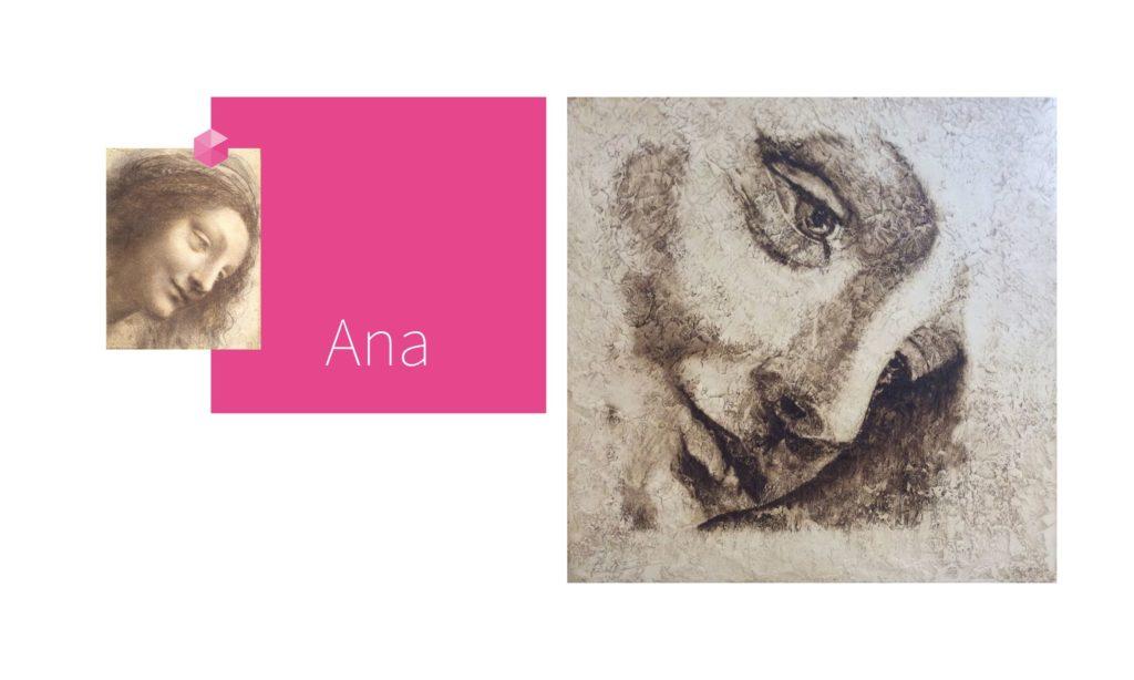 ANA | por C,J,Ruiz Recreación de BOCETA DE LA VIRGEN de Leonardo da Vinci Colección VIDAS y sus Relatos Cortos Nunproject.com