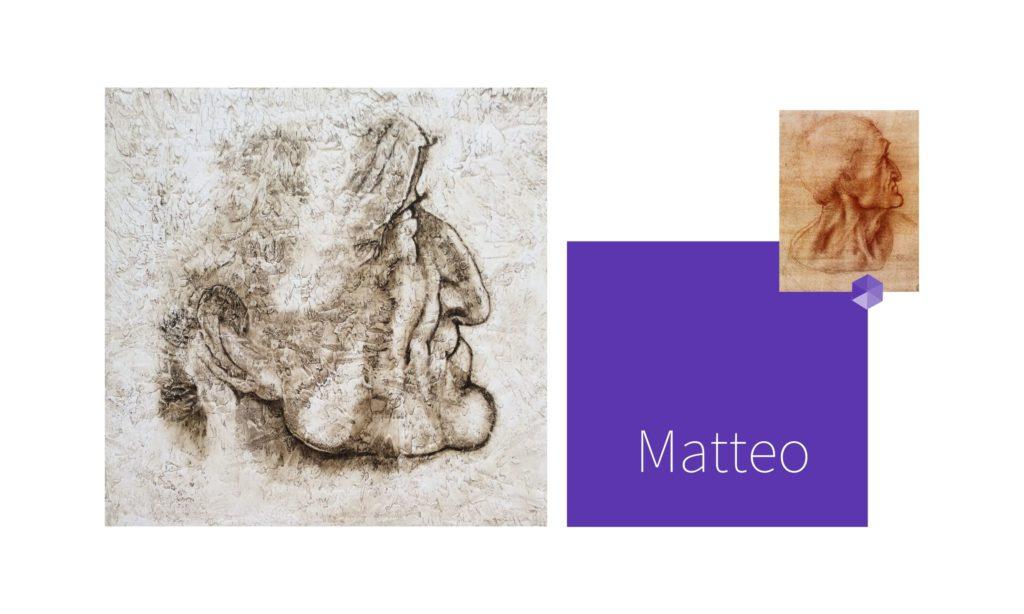 MATTEO | por C.J.Ruiz Recreación de JUDAS de La Última Cena de Leonardo Da Vinci Colección VIDAS y sus Relatos Cortos Nunproject.com