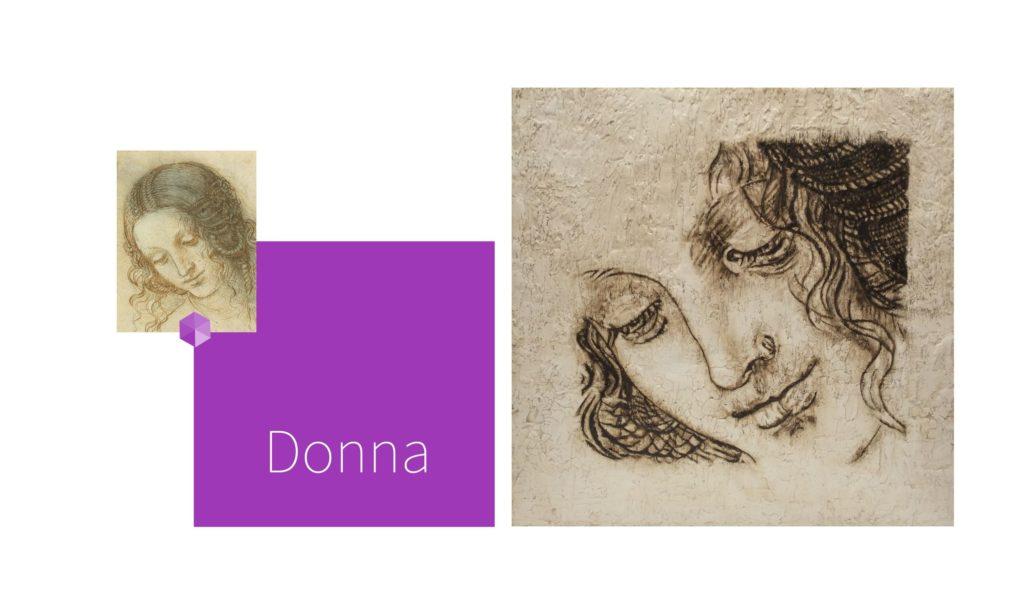 DONNA | por C.J.Ruiz Recreación de LEDA  de Leonardo Da Vinci Colección VIDAS y sus Relatos Cortos Nunproject.com